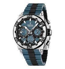 Quarz-(Batterie) Armbanduhren aus Silikon/Gummi mit Chronograph für Herren