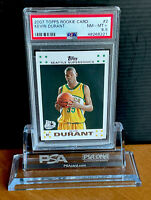 2007 Topps Kevin Durant Rookie RC #2 PSA 8.5 NM-Mint+ Sonics Nets 50th (not 9!)