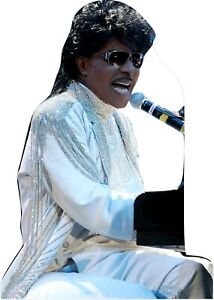 """Little Richard at the piano 64"""" Tall Life Size Cardboard Cutout Standee"""