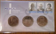 2012 Medical Doctors A Lasting Legacy  3 Medallion PNC/FDC COVER