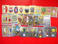 CALCIATORI PANINI 2000 - Set Completo 83 SCUDETTI-BADGES Stickers-New