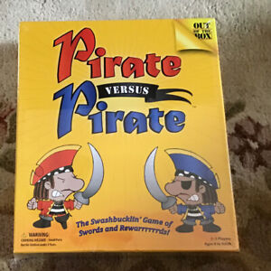 NEW  Pirate Versus Pirate By Out of the Box Ages 8+ Board Game 2-3 Players
