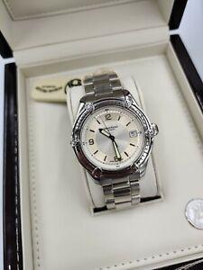 Armand Nicolet Tramelan Silver Dial Automatic Luxury Men's Swiss Watch RARE