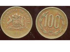 CHILI   100 pesos  1985  ( bis )