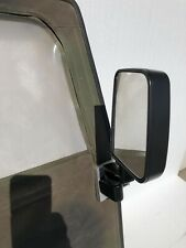 HUMVEE MIRRORS + ADAPTER PLATE FOR SOFT DOORS - Set Of 2 MILITARY M998 H1 HUMMER