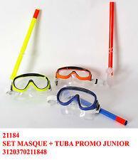 Set maschera sub con tubo respiratore immersione subacquea non professionale