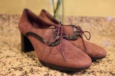 Camper Women's Plum Purple Bolso Oxford Heels Size 39 (sh900