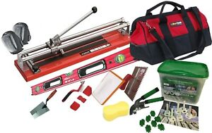 """TileCutter Jokosit 60cm/24"""" with all Tiling tools for tile lying+ Self Levelling"""