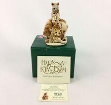 "Harmony Kingdom ""Hurly-Burly "" Cat Box Figurine Tjca20 Nib"