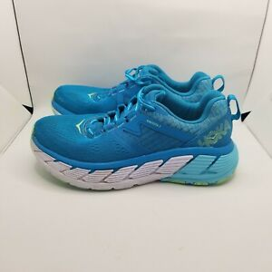Hoka One One Gaviota 2 Running Shoes Womens Size 8 Aqua