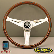 Nardi Steering Wheel ND CLASSIC WOOD Grain Polished Spokes 390mm 5061.39.3000