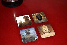 Buddha Awesome Wooden Coaster Set