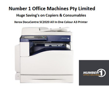 Xerox DocuCentre SC2020 Colour,Copy,Network Print/Scan A4 A3,1 Year Warranty