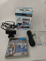 Sony PS3 Move Bundle-controller, Camera, Sports Champions Game Complete