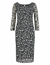 Marks and Spencer Animal Print 3/4 Sleeve Dresses for Women