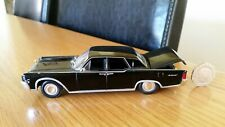 1:43 Diecast Black Lincoln Continental Boot Open James Bond Goldfinger Perfect