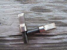 Swivel Knife Leather Carving Blades Large Diameter Barrell Hole 7/32 HD Set Of 2