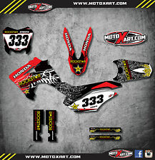 Honda CRF 125 - 2013 - 2016 Full  Custom Graphic  Kit  STAR STYLE stickers decal