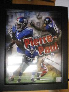 Jason Pierre-Paul New York Giants Authentic NFL Photo Framed Plaque 2011