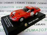 IT74M voiture 1/43 ALFA ROMEO : Giulia TZ2 1965