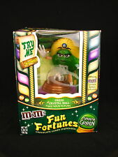 M&Ms Fun Fortunes Madame Green Dispenser Limited Edition Advertising Collectible