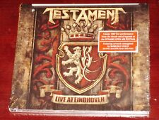 Testament: Live At Eindhoven - 1987 CD 2018 Nuclear Blast NB USA Digipak NEW