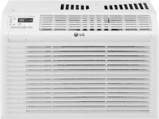 LG 6000 BTU 115V Window Air Conditioner with Remote Control - White