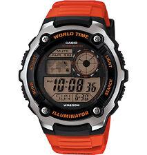 Casio AE2100W-4A Men's World Time 5 Alarm Chronograph Sports Digital Watch