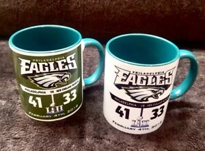 Eagles Super Bowl championship Coffee Mugs- FATHER'S DAY SPECIAL