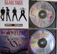 Glass Tiger- Diamond Sun/ Simple Mission- 2 CDs WIE NEU