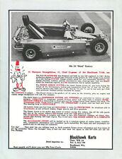Vintage 1973 Blackhawk Karts Mk IX Go-Kart Ad