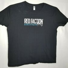Red Faction Armageddon Men's Black XL T Shirt Video Game