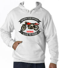 NORTON COMMANDO FASTBACK - NEW AMAZING GRAPHIC HOODIE S-M-L-XL-XXL