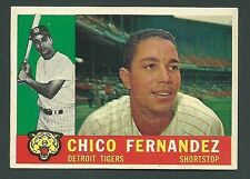 Chico Fernandez Detroit Tigers 1960 Topps Card #314