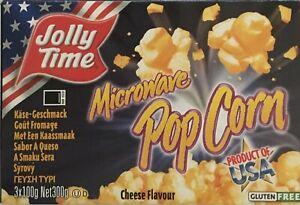 Jolly Time Mikrowellen Popcorn Käse Geschmack - Import aus USA - 300 Gramm