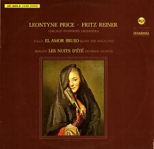 RCA LSC-2695 PRICE Leontyne BERLIOZ Summer Nights FALLA El Amor Brujo REINER NM