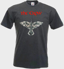 The Crow v2 T shirt graphite black red orange olive movie poster all sizes S-5XL