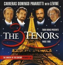 Carreras Domingo Pavarotti 3 tenors in Paris (1998, with Levine) [CD]