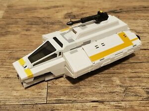 """STAR WARS Rebels Phantom Attack Shuttle, Preowned Complete 3.75"""" Scale Vehicle B"""