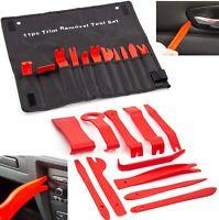 11Pc Car Trim Door Panel Removal Tool Molding Set Kit Pouch Pry Interior Van DIY