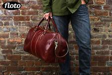 Original Italian Leather Duffle Weekend Travel Overnight Bag Holdall (18)
