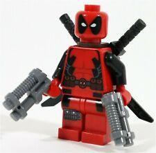 RARE NEW LEGO X-MEN DEADPOOL MINIFIGURE 6866 MARVEL SUPERHEROES - GENUINE