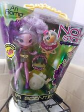 Novi Stars Scented Doll Ari Roma W/ Pet & Glow in the Dark Stand