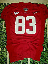 VTG Nike Alabama Crimson Tide Game Used Worn Football Jersey Size 50