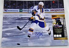 BARRET JACKMAN 11x14 Autographed Photo Signed COA St Louis BLUES WC