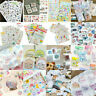 DIY Crafts Calendar Scrapbook Album Diary Book Decor Planner Paper Stickers Hot!