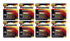 8x Panasonic CR-P2 Battery Photo 6V 223A CR223 6 Volt Lithium CRP2 Camera FRESH