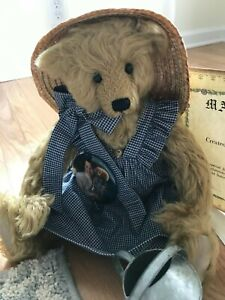 1993 OOAK LIMITED Edition of 25 Mohair Bear by ARTIST Bonnie Windell for DISNEY