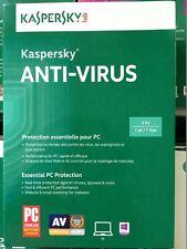 Kaspersky Antivirus 3 Pcs 1 year 2018