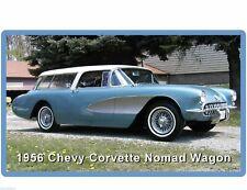 1956 Chevrolet Corvette Nomad Wagon Auto Refrigerator / Tool Box  Magnet